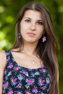 an amazingly beautiful Roman-Catholic girl photographed in May 2014, picture 5/25