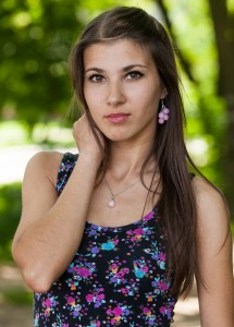 an amazingly beautiful Roman-Catholic girl photographed in May 2014, picture 15/25