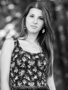 an amazingly beautiful Roman-Catholic girl photographed in May 2014, black and white, picture 3/11