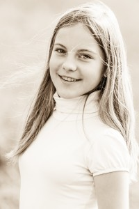 an amazingly beautiful young Catholic girl photographed in October 2014, picture 66, black and white