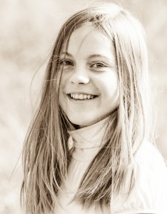 an amazingly beautiful young Catholic girl photographed in October 2014, picture 75, black and white