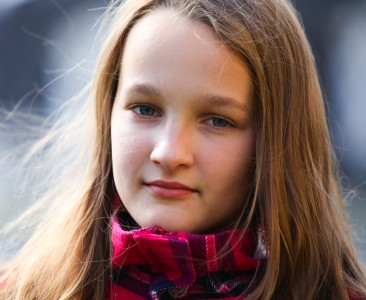 an astonishingly beautiful young Catholic girl photographed in September 2013, picture 20/34