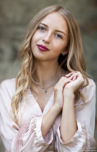 Ania - a 14-year-old natural blonde girl photographed by Serhiy Lvivsky in August 2017, picture 31