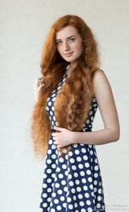 Ania - a 19-year-old natural red-haired girl photographed in June 2017 by Serhiy Lvivsky, picture 9