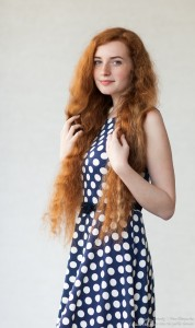 Ania - a 19-year-old natural red-haired girl photographed in June 2017 by Serhiy Lvivsky, picture 14