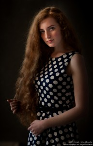 Ania - a 19-year-old natural red-haired girl photographed in June 2017 by Serhiy Lvivsky, picture 17