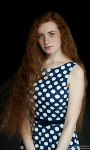 Ania - a 19-year-old natural red-haired girl photographed in June 2017 by Serhiy Lvivsky, picture 18