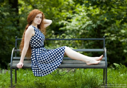 Ania - a 19-year-old natural red-haired girl photographed in June 2017 by Serhiy Lvivsky, picture 26