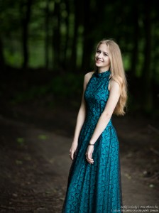Lila - a 15-year-old natural blonde girl photographed in May 2017 by Serhiy Lvivsky, picture 23