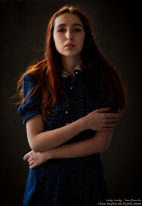 Lisa - a 19-year-old girl with natural red hair photographed in June 2017 by Serhiy Lvivsky, picture 6