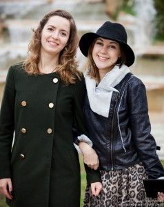 two cute girls photographed in January 2016, picture 1