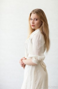 Vladyslava - an 18-year-old natural blonde girl photographed by Serhiy Lvivsky in June 2017, picture 10