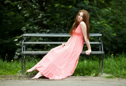Yana - a 23-year-old girl with natural red hair photographed in June 2017 by Serhiy Lvivsky, picture 10