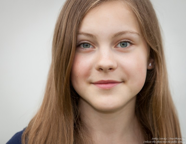 a 13 year old Roman-Catholic girl photographed in July 2015, picture 1