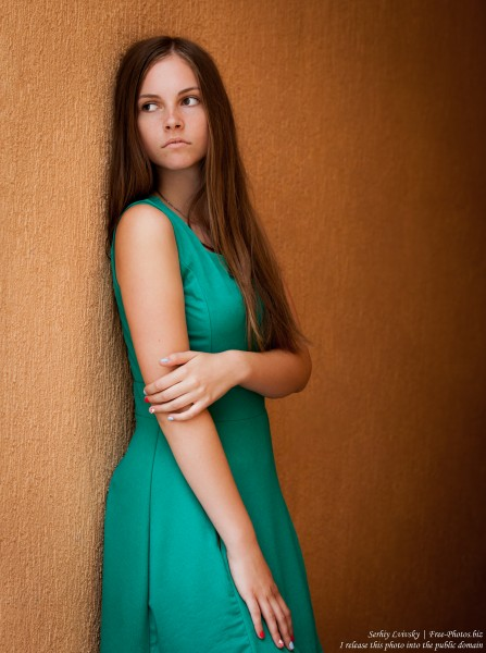 a 14-year-old Catholic girl photographed by Serhiy Lvivsky in August 2015, picture 11