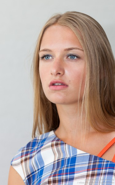 a 14-year-old natural blond girl photographed by Serhiy Lvivsky in July 2016, picture 10