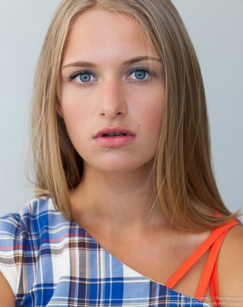 a 14-year-old natural blond girl photographed by Serhiy Lvivsky in July 2016, picture 16