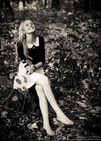 a 15-year-old blond girl photographed in October 2015 by Serhiy Lvivsky, picture 12
