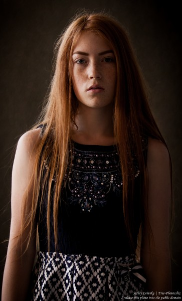 a 15-year-old red-haired Catholic girl photographed by Serhiy Lvivsky in August 2015, picture 7