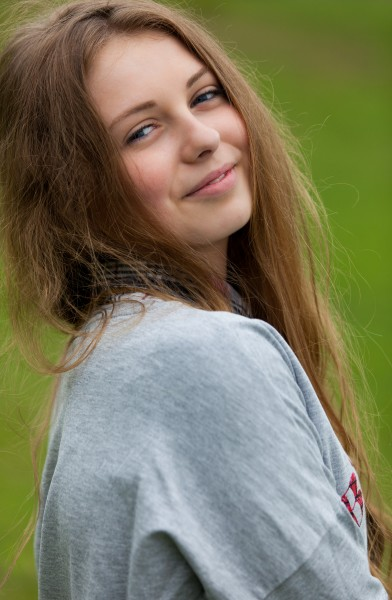 a 15 year-old Catholic girl photographed in May 2015, picture 9