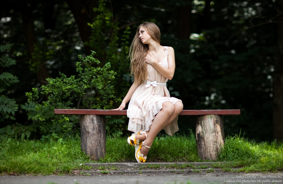 a 16-year-old natural blonde girl photographed in August 2016 by Serhiy Lvivsky, picture 23