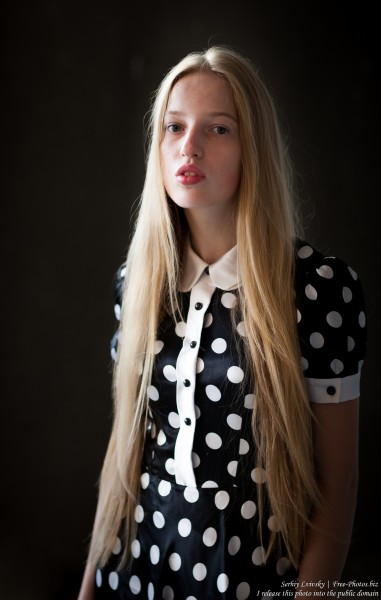 a 17-year-old Catholic natural blond girl photographed in September 2016 by Serhiy Lvivsky, picture 8