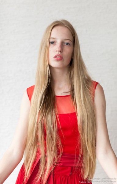 a 17-year-old Catholic natural blond girl photographed in September 2016 by Serhiy Lvivsky, picture 12