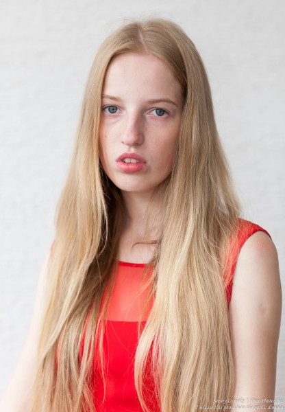 a 17-year-old Catholic natural blond girl photographed in September 2016 by Serhiy Lvivsky, picture 14