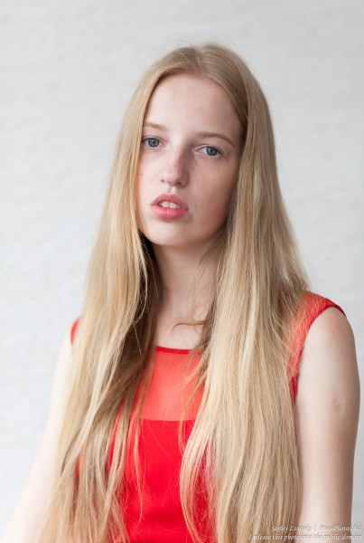 a 17-year-old Catholic natural blond girl photographed in September 2016 by Serhiy Lvivsky, picture 16
