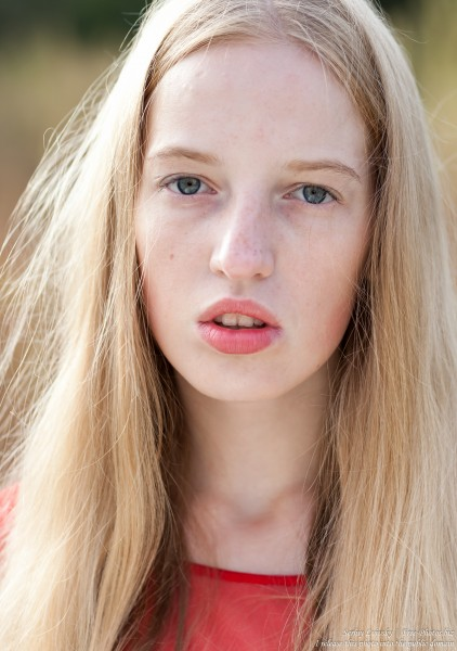 a 17-year-old Catholic natural blond girl photographed in September 2016 by Serhiy Lvivsky, picture 21