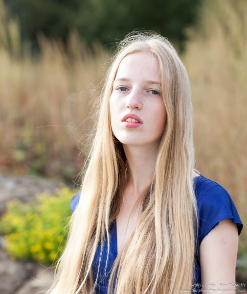 a 17-year-old Catholic natural blond girl photographed in September 2016 by Serhiy Lvivsky, picture 24