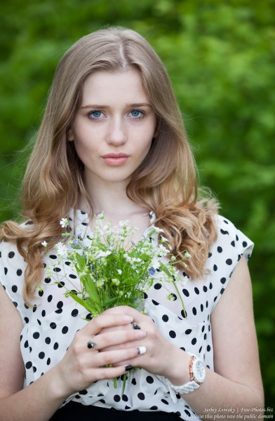 a 17-year-old natural blond girl photographed in May 2016 by Serhiy Lvivsky, picture 25