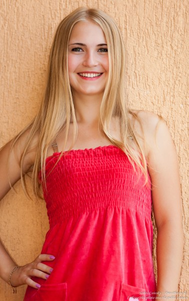 a Catholic 19-year-old natural blond girl photographed in August 2015 by Serhiy Lvivsky, picture 26