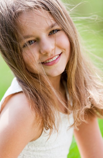 a cute 12-year-old girl photographed in May 2015, picture 11