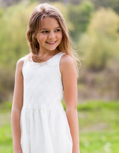 a cute 12-year-old girl photographed in May 2015, picture 14