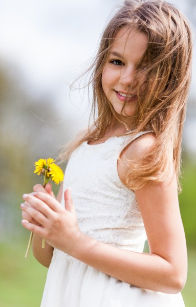 a cute 12-year-old girl photographed in May 2015, picture 16