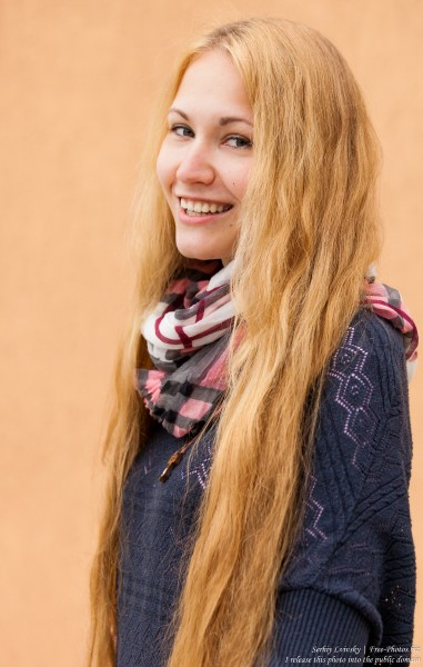 a long-haired Roman-Catholic girl photographed in May 2015, picture 5