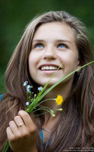 a pretty 13-year-old Catholic girl photographed in August 2015 by Serhiy Lvivsky, picture 9