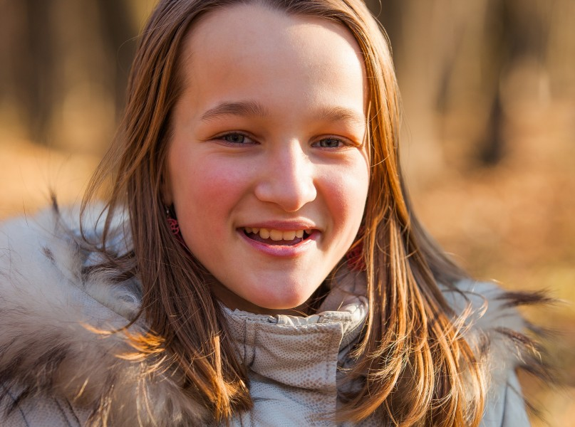 a stunningly beautiful young Roman-Catholic girl photographed in December 2013, picture 20