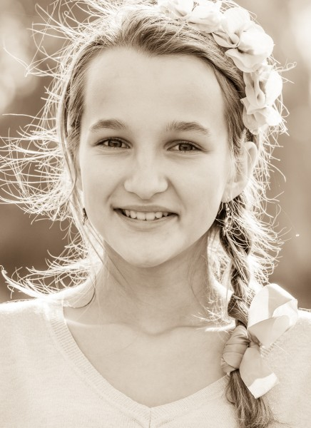 an amazing Catholic girl photographed in October 2014, picture 9, monochrome