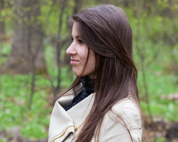 an amazingly attractive brunette Catholic girl photographed in April 2014, picture 7 out of 16