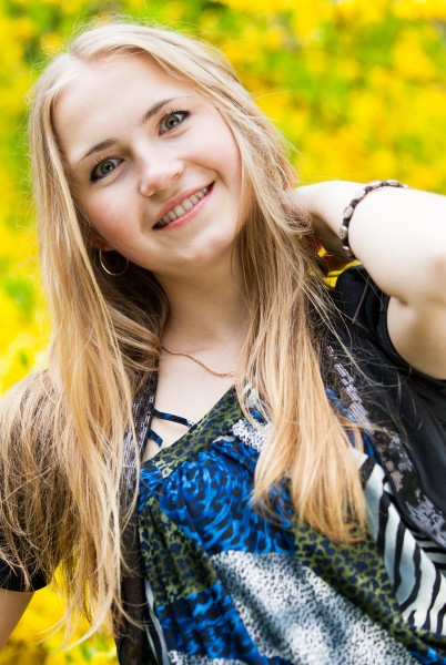 an amazingly beautiful 19-year-old blond Catholic girl photographed in May 2015, picture 23