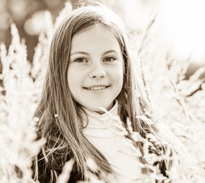 an amazingly beautiful young Catholic girl photographed in October 2014, picture 27, black and white