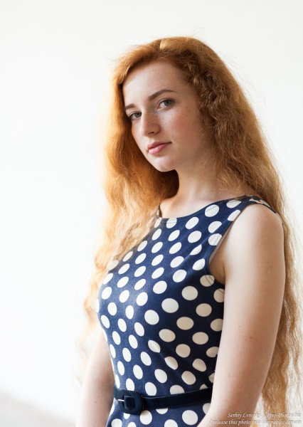 Ania - a 19-year-old natural red-haired girl photographed in June 2017 by Serhiy Lvivsky, picture 1