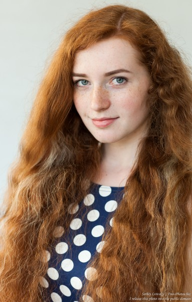 Ania - a 19-year-old natural red-haired girl photographed in June 2017 by Serhiy Lvivsky, picture 2
