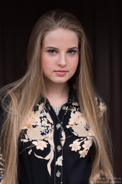 Diana - an 18-year-old natural blonde girl photographed in August 2020 by Serhiy Lvivsky, picture 42