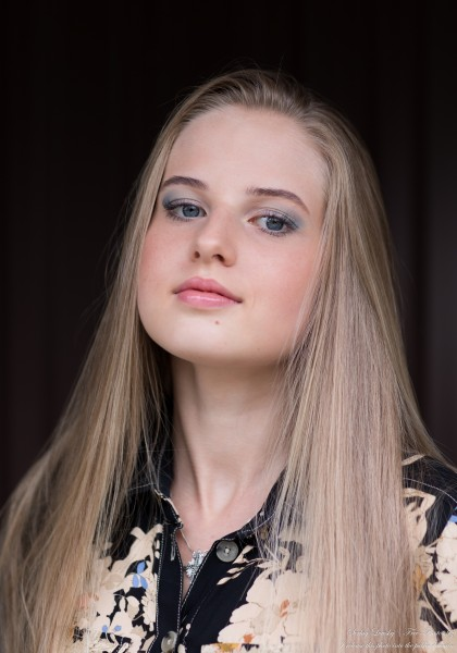 Diana - an 18-year-old natural blonde girl photographed in August 2020 by Serhiy Lvivsky, picture 45