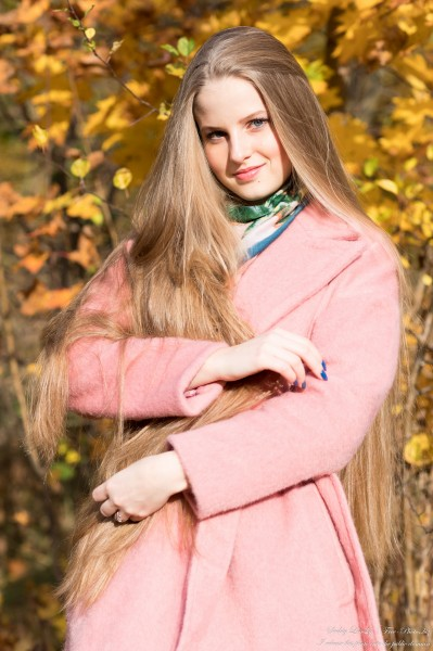 Diana  - an 18-year-old natural blonde girl photographed in October 2020 by Serhiy Lvivsky, picture 39
