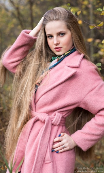 Diana  - an 18-year-old natural blonde girl photographed in October 2020 by Serhiy Lvivsky, picture 41