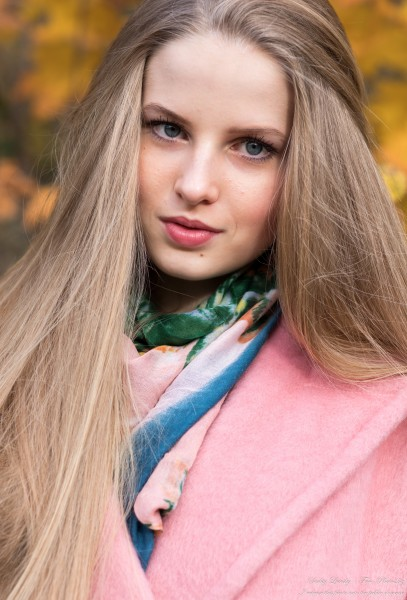 Diana  - an 18-year-old natural blonde girl photographed in October 2020 by Serhiy Lvivsky, picture 46